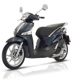 Vehicles 2018 Piaggio Liberty iGET 50cc i.e. Midnight Blue