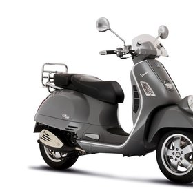 Vehicles 2007 Vespa GT60 (Stock Photo Used)