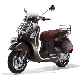 Vehicles 2012 Vespa GTV300 Espresso (Stock Photo Used)