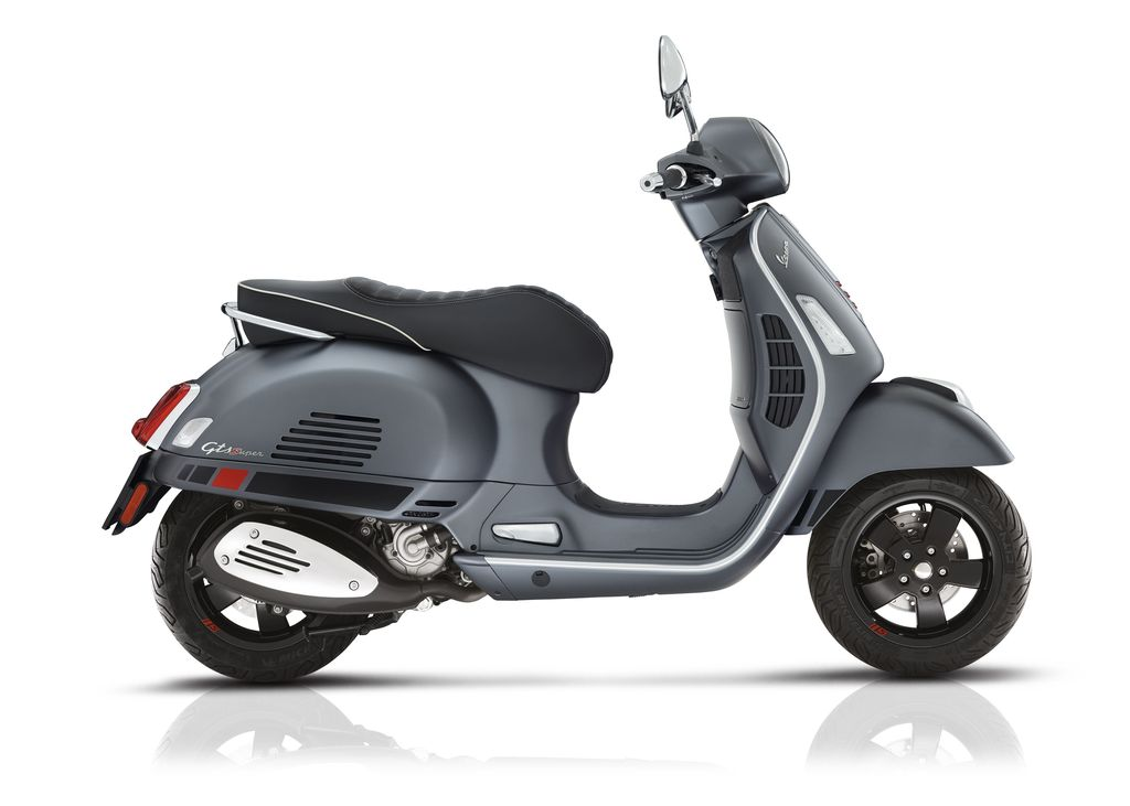 Vehicles 2018 Vespa GTS300 Super ABS/ASR Tiranium