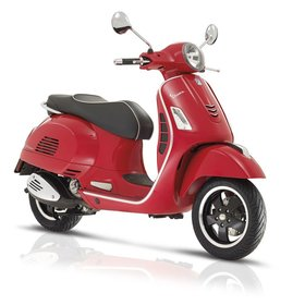 Vehicles 2018 Vespa GTS300 Super ABS/ASR Red