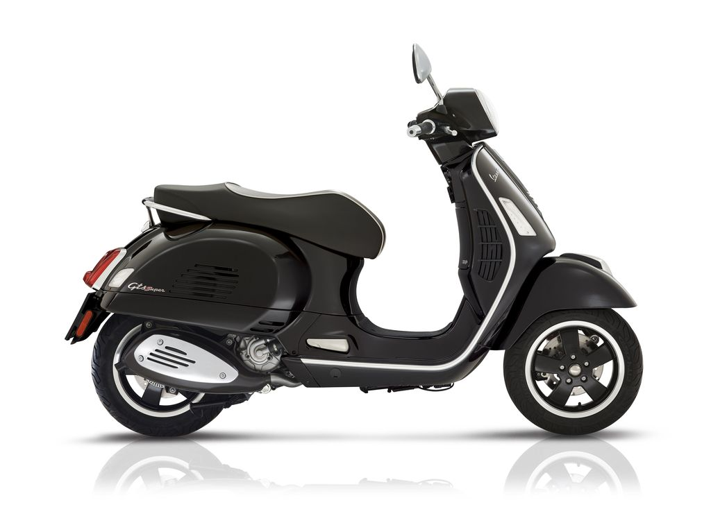 vehicles 2018 vespa gts300 super abs asr black vespa. Black Bedroom Furniture Sets. Home Design Ideas