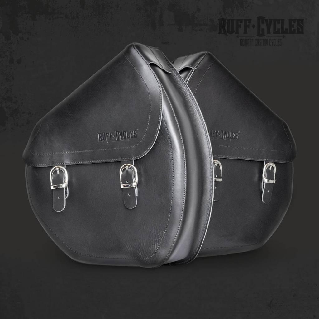 Accessories Side Bag, Leather Black Left Side