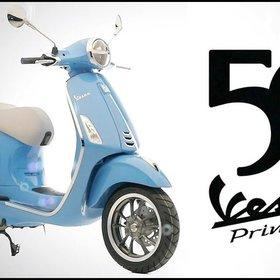 Vehicles 2019 Primavera 50th Annivesary Blue