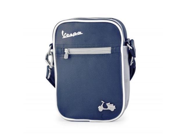 Lifestyle Shoulder Bag, Blue/White Vespa