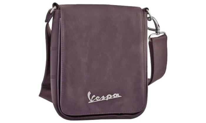 Lifestyle Shoulder Bag, Brown Vespa