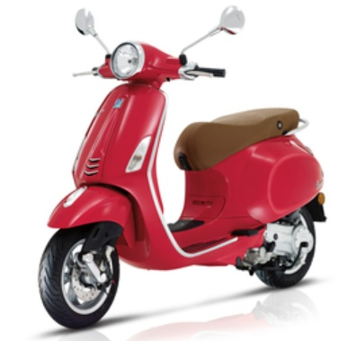 Vehicles 2019 Vespa Primavera 50 4T-3V Passion Red