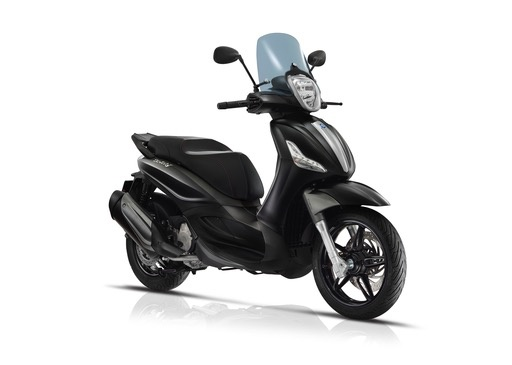 Vehicles 2018 Piaggio BV350 Matte Black