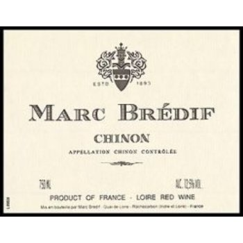 Marc Bredif Marc Bredif Chinon Red 2015<br />Loire, France