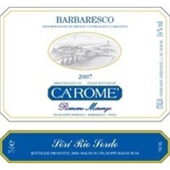 Ca&#039;Rome Ca&#039; Rome Barbaresco Sori Rio Sordo 2007<br />Piedmont, Italy<br />93pts RP