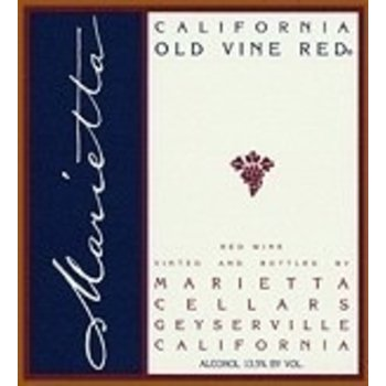 Marietta Marietta Old Vine Red 64 Red-Zinfandel Blend  California