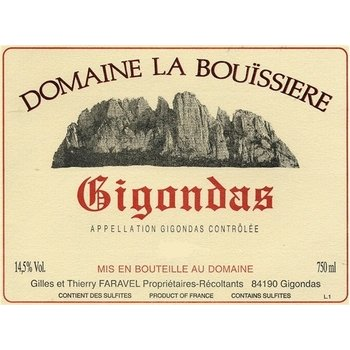 Dm Bouissiere Domaine La Bouissiere-Gigondas-2013  Rhone, France