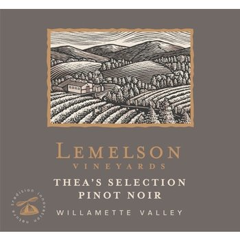 Lemelson Lemelson Pinot Noir Thea&#039;s Selection 2015<br />Willamette Valley, Oregon<br /> 91pts-WS