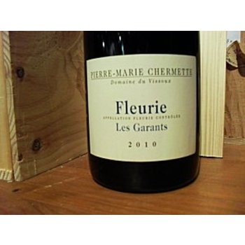 Chermette Pierre-Marie Chermette Fleurie Les Garants 2015<br />Beaujolais, France
