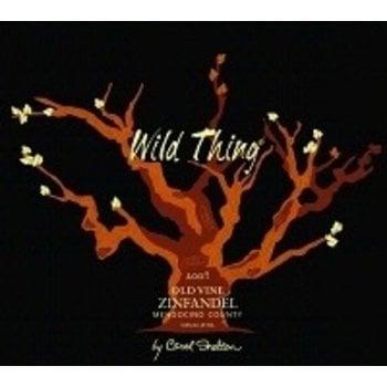 Carol Shelton Carol Shelton Wild Thing Old Vine Zinfandel 2014   Mendocino, California
