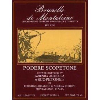 Scopetone Podere Scopetone Brunello di-Montalcino 2011    Tuscany, Italy