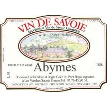 Dm Labbe Domaine Labbe Abymes 2015<br />Loire, France