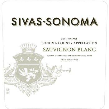 Sivas-Sonoma Sivas-Sonoma Sauvignon Blanc 2015<br />Sonoma, California