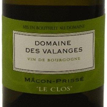 Dm Des Valanges Domaine Des Valanges Macon-Prisse &quot;Le Clos&quot; 2016 <br /> Burgundy, France