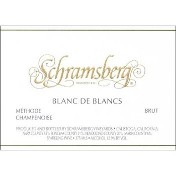 Schramsberg Schramsberg Sparkling Blanc de Blanc 2015<br />Napa, Califronia
