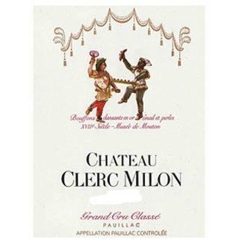 Ch Clerc Milon Ch Clerc Milon Grand Cru-Rothschild 2012  Pauillac-Bordeaux, France  92pts-RP