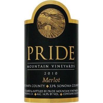 Pride Pride Mountain Vineyard-Merlot-2013  Sonoma, California
