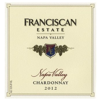Franciscan Franciscan Estate Chardonnay 2015  <br /> Napa, California