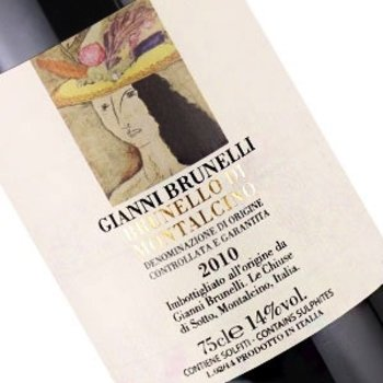Gianni Brunelli Gianni Brunelli Brunello Di-Montalcino 2010-Tuscany, Italy-95pts-JS, 95pts-V, 93pts-WA
