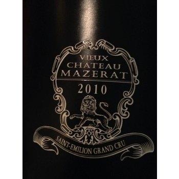 Ch maltus Ch Maltus Vieux Ch Mazerat Saint Emilion Grand Cru 2010<br />Bordeaux, France<br />95pts-RP