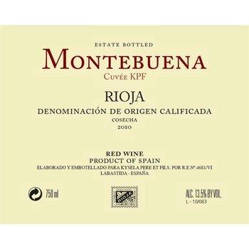 Montebuena Montebuena Rioja Tempranillo 2014<br />Rioja, Spain