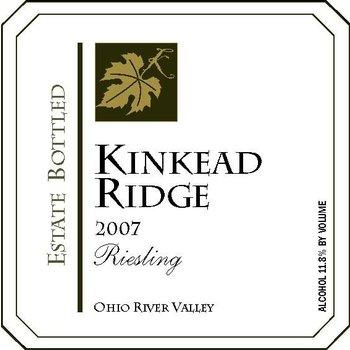 Kinkead Ridge Kinkead Ridge Riesling 2013<br />Ohio River Valley, Ohio