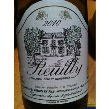 Dm Beurdin Domaine Beurdin Reuilly Sauvignon Blanc 2013<br />Loire, France