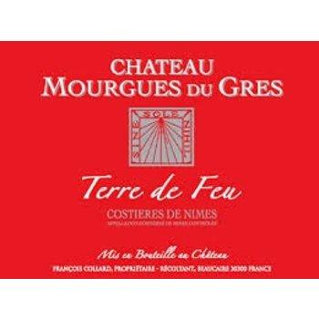 Ch Mourgues Du Gres Ch Mourgues Du Gres Terre de Feu Rouge 2010<br />Costieres De Nimes, France