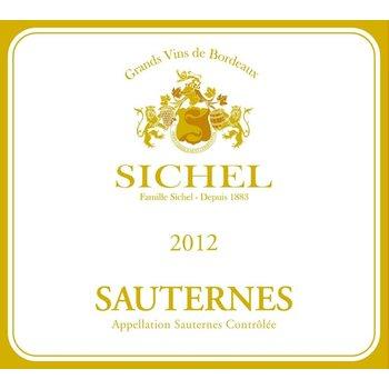 Maison Sichel Maison Sichel Sauternes 2012-Bordeaux, France   500ml