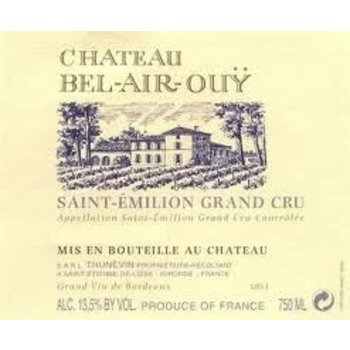Ch Bel-Air-Ouy Ch Bel-Air-Ouy Saint-Emilion-Grand Cru 2010  Bordeaux, France