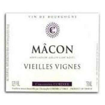 Cordier Christophe Cordier Macon Vieilles Vignes 2012<br />Burgundy, France