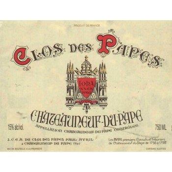 Clos des Papes Clos des Papes Chateauneuf-Du-Pape 2014  Rhone, France  <br /> 94pts-WA