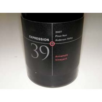 Expression Expression 39 Anderson Creek Pinot Noir 2012<br />
