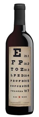 Joel Gott And Dave Phinneys Eye Chart Red Wine Br Napa
