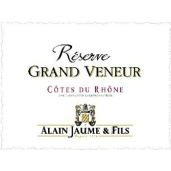 Alain Jaume Alain Jaume &amp; Fils Reserve Grand Veneur Cote-Du-Rhone Blanc 2013<br />Rhone, France