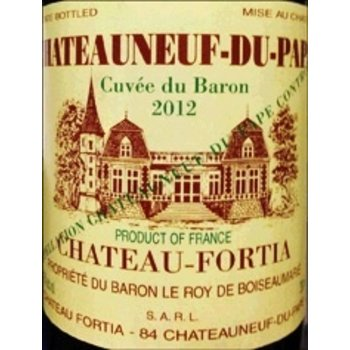 Ch Fortia Ch Fortia Chateauneuf-Du-Pape Cuvee du Baron 2015<br />