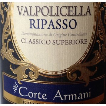 Corte Armani Corte Armano Valpolicella Ripasso Classico Superiore 2014  <br /> Veneto, Italy