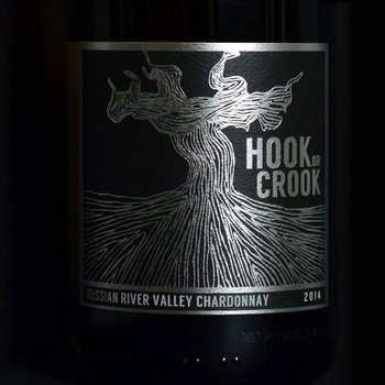 Hook or Crook Hook or Crook Cellars-Chardonnay-2014 Rissian River-Valley, California