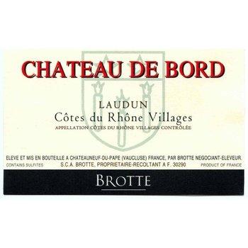 Brotte Brotte-Ch De Bord Laudun Cotes-du Rhone Villages 2014  Rhone-France