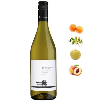 Simple Life Simple Life Winery Chardonnay 2016 California