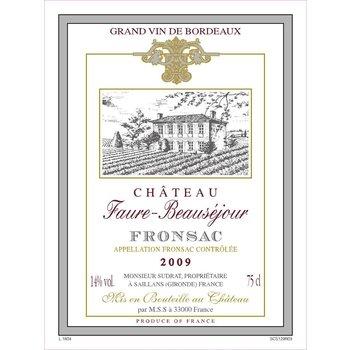 Ch Faure-Beausejour Ch Faure-Beausejour-Fronsac-2009-Bordeaux, France
