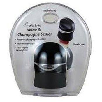 Metrokane Distribution, LLC Rabbit Champagne, Wine and Beer Bottle Sealer
