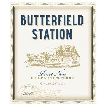 Butterfield Station Butterfield Station Firebaugh's-Ferry Pinot Noir 2015    California