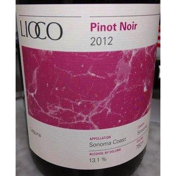 Lioco Lioco Laguna Pinot Noir 2012-Sonoma, California    91pts-V