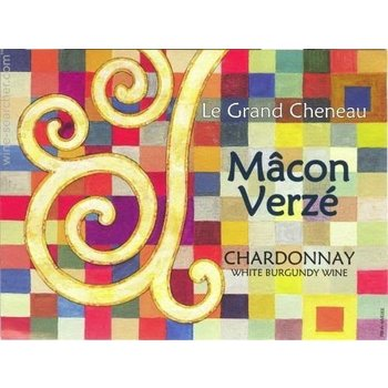 Le Grand Cheneau Le Grand Cheneau Macon Verze Chardonnay 2014  Burgundy-France